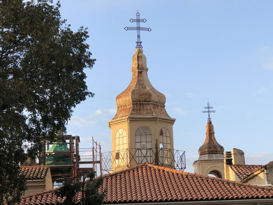 Unsere Aussicht: die Armenische Kirche