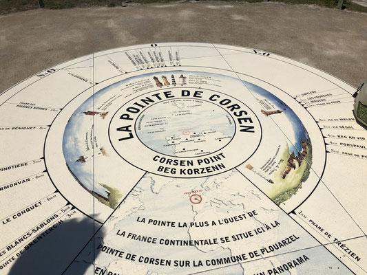 Wir waren da, am westlichsten Punkt des französischen Festlandes!