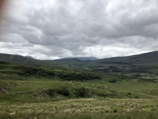 Auf unserer Weiterreise durchqueren wir den Snowdonia Nationalpark.
