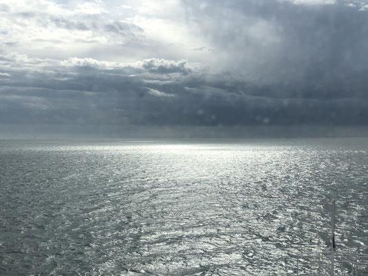 Aufwiedersehen Schottland, unsere Schifffahrt von Cairnryan nach Larne/Irland.