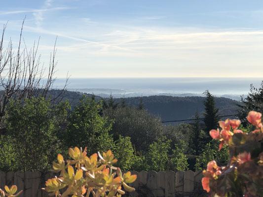 Unser Blick über die Côte d´Azur