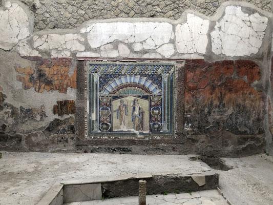 Wunderschöne Mosaike, Malereien, Bauweisen.. eine Reise in eine Vergangenheit, die paradisisch erscheint