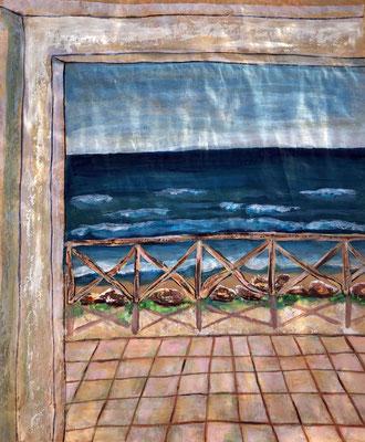 Mare, Mare, Mare, 38 x 50 cm Acryl