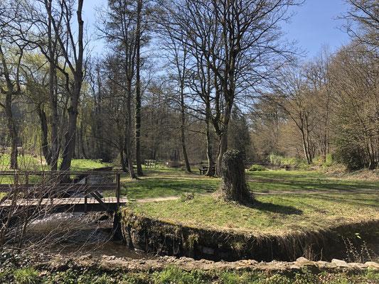 Der Petit Moulin in den Vaux de Cernay.
