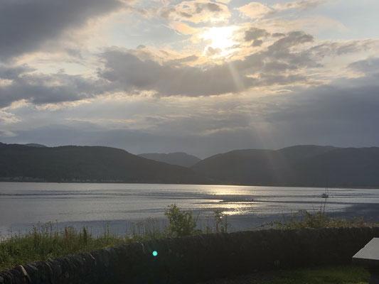 Innerer Seebereich vor der Westküste Schottlands.