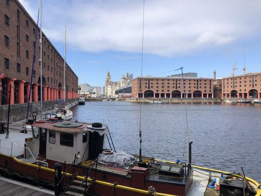 Die Royal Albert Docks in Liverpool beherbergen einige Museen (Tate, Beatles und Maritimes Museum), sowie Länden, Appartements, Büros und Restaurants.
