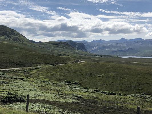Lairg - Blick auf Loch Eriboll.
