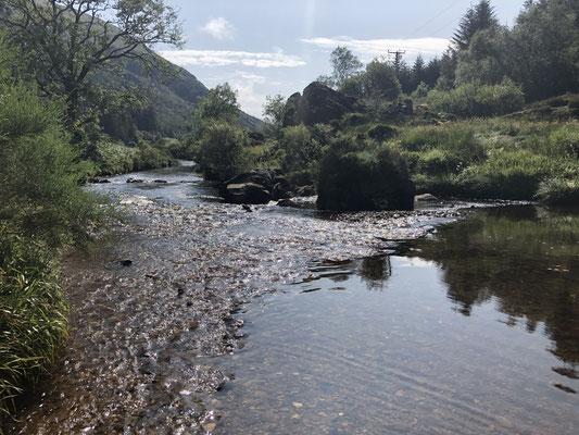 Glen Massan, ein wunderschönes Tal in der Nachbarschaft.