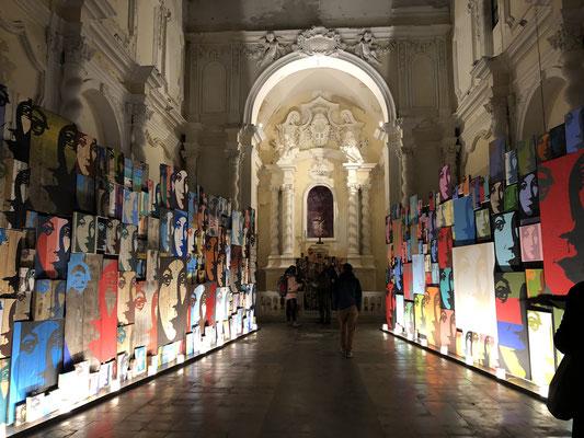 Eine einzigartige Ausstellung in Siracusa, fantastisch, sehr sehenswert: www.drudi.it