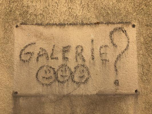 Was ein schönes Graffiti!