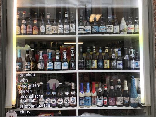 Auch wenn es noch soviel Auswahl gibt, wir werden einfach keine Biertrinker.