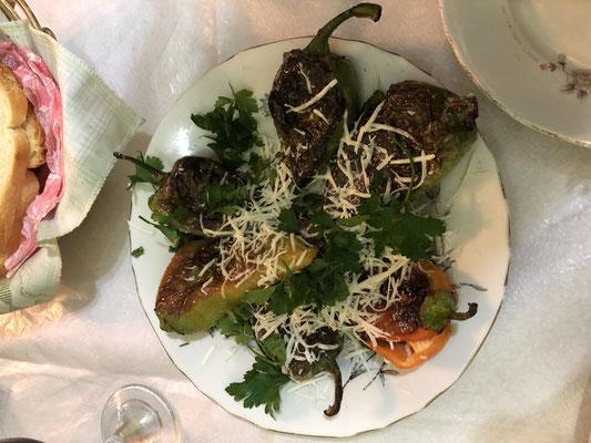 Mmmmmhhhh lecker, die albanische Küche ist fantastisch.