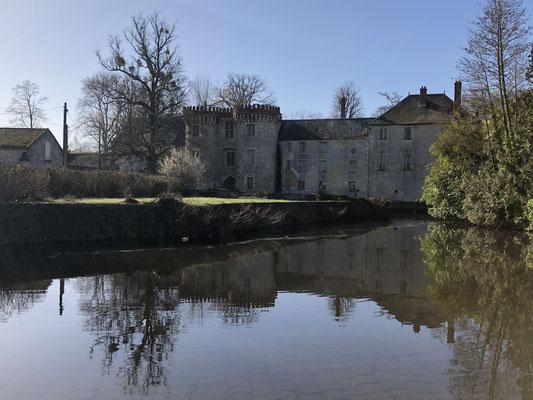 Das Château von Milly-la-Forêt.