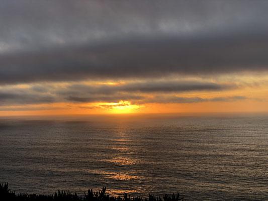 Gekrönt wird das Ganze noch vom Sonnenuntergang!