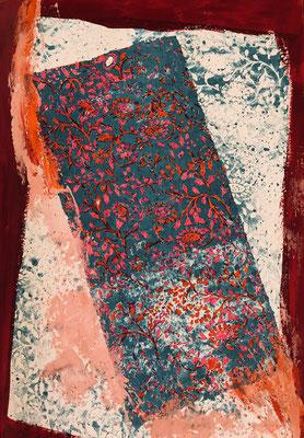 Zawada 1, 22 x 31 cm, Acryl Spielereien