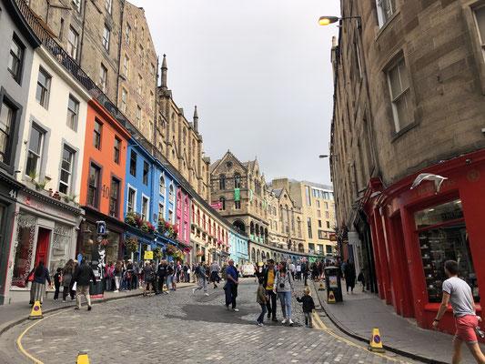 Edinburgh, eine tolle altehrwürdige Stadt.