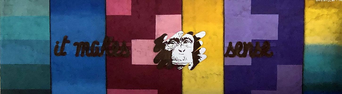 Tolle Graffitis, die Sinn machen!