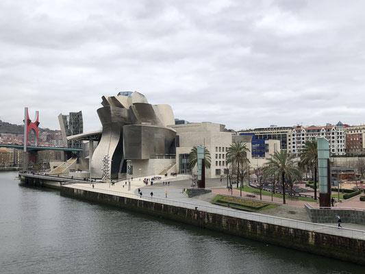 Willkommen in der Stadt des Guggenheim Museums!