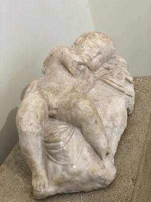 Der schlafende Amor.
