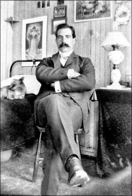 Louis-Philippe Desbiens, gérant du magasin de Baie Ste-Claire
