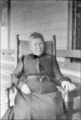 Odile Ferland, seconde épouse de Alfred Malouin