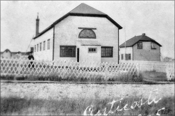 Église de Baie Ste-Claire en 1905