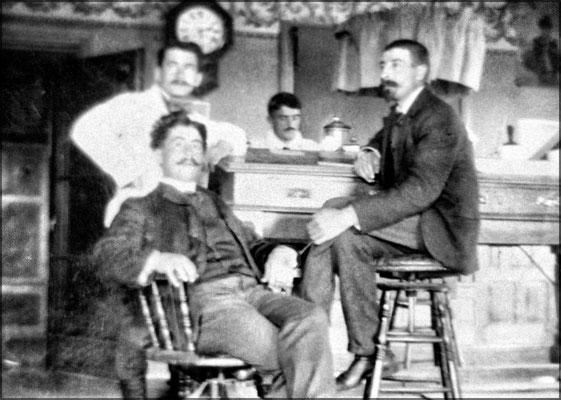 Lorenzo Malouin, Auguste Sirois, Fernand Le Bailly et Eugène Servêtre