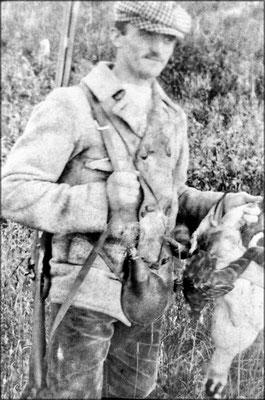 Fernand Le Bailly, retour de chasse