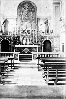 Intérieur de l'église de l'Anse-Aux-Fraises