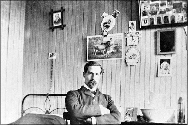 Louis-Philippe Desbiens à Baie Ste-Claire vers 1903