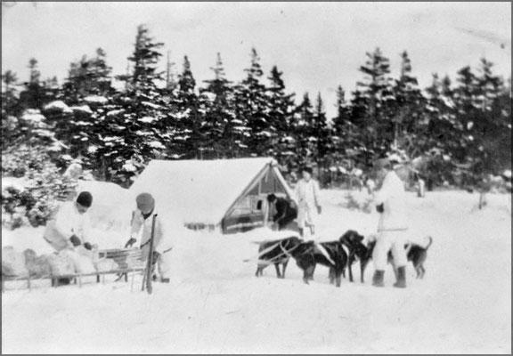 Exploration de l'île vers 1903