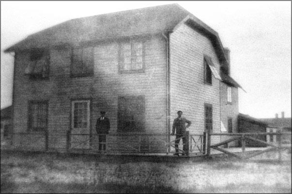 Une des maisons de Baie Ste-Claire