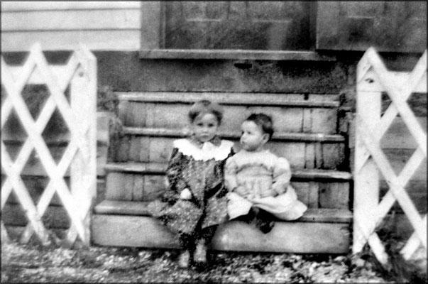 Jeunes enfants à Baie Ste-Claire
