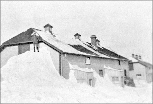 Baie Ste-Claire dans la neige