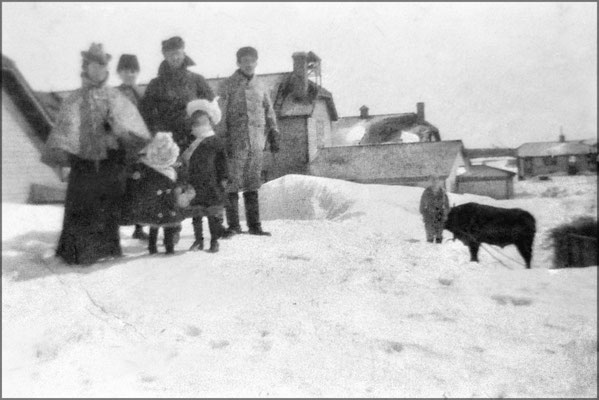 Ferme de Baie Ste-Claire vers 1903