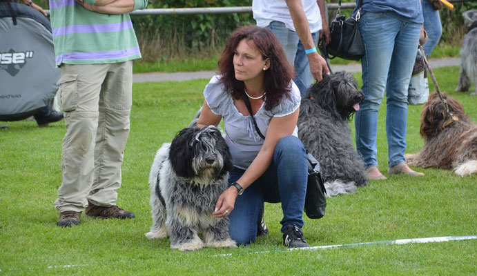 Barney mit Silvia