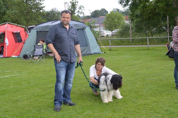 Alec Yasco mit seiner Familie