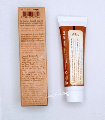 Retro confezione  Fondotinta Couleur caramel Hydracoton