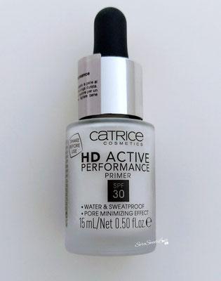 Fronte confezione primer hd active performance Catrice