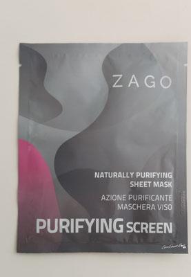 Davanti confezione Maschera viso con azione purificante Zago