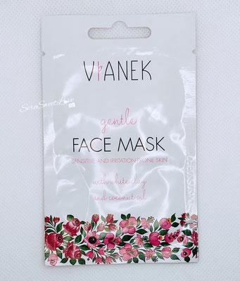 Fronte  bustina maschera viso calmante Vianek