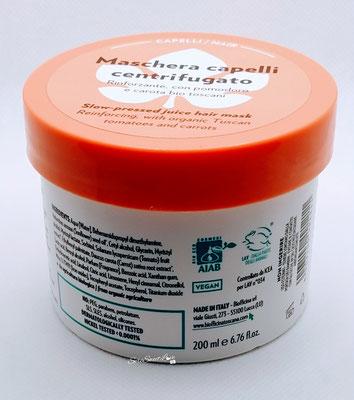 Retro Texture maschera capelli centrifugato Biofficina Toscana