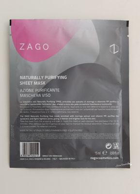 Retro confezione Maschera viso con azione purificante Zago