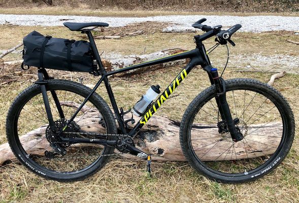 Tailfin AeroPack X am Specialized Chisel