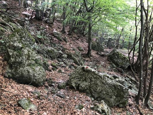 Umrundung des Monte Galero