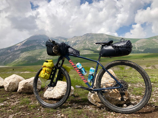 MTB, Specialized Chisel, Bikepacking, Gran Sasso