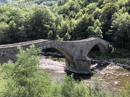 schöne Steinbrücke