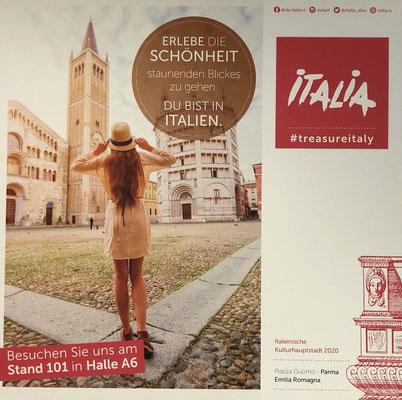 Messe free 2020 München, Partnerland Italien