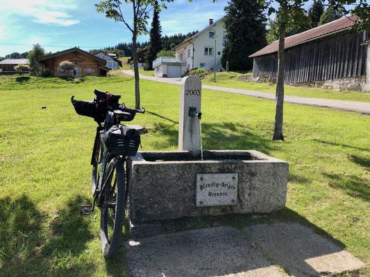 Trinkwasserbrunnen in Philippsreut