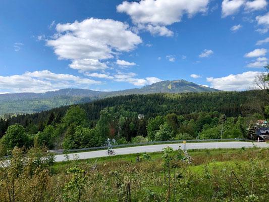 Auffahrt zum Großen Arber, Bayerischer Wald